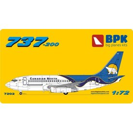 Big Planes Kits (BPK) B737-200 CANADIAN NORTH 1:72 GRAVEL KIT,