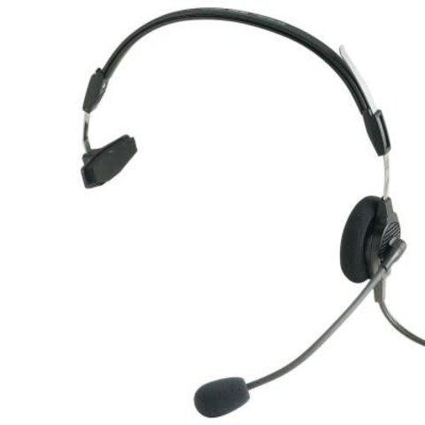 Airman 750 Single Sided headset GA jacks