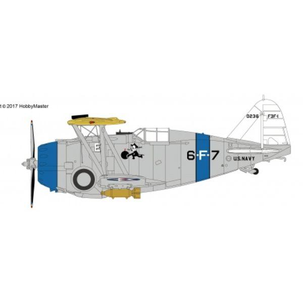 Hobby Master HOBBYM F3F1 VF6B Felix the Cat USS Saratoga 6-F-7 1936 1:48