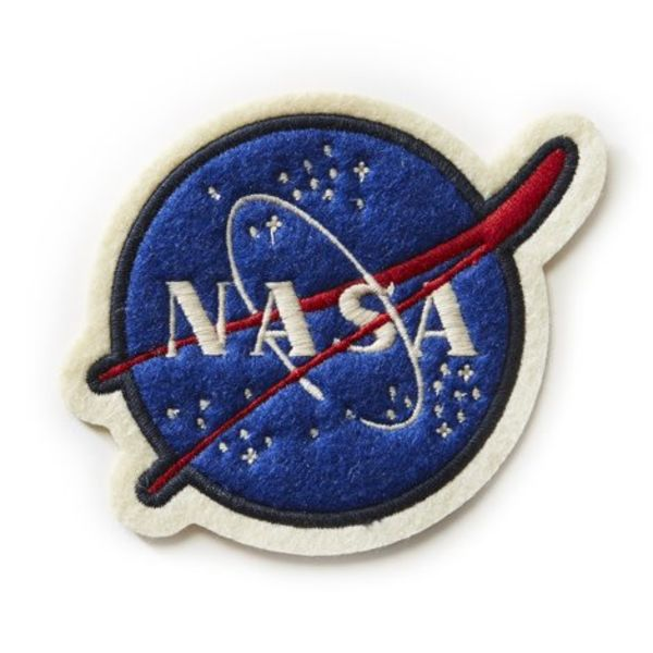Red Canoe Brands PATCH NASA felt