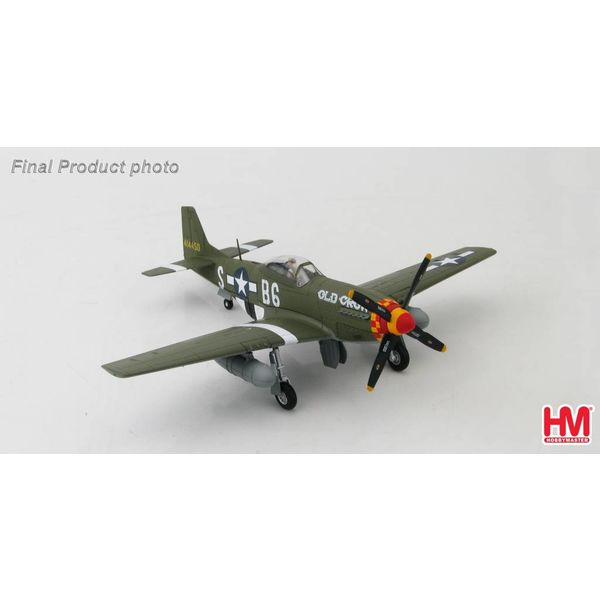 Hobby Master P51D Mustang 363FS 357FG Old Crow Capt,Bud Anderson SB-6 1:48 (non-signature edition)