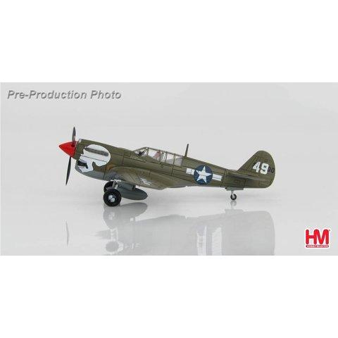 P40N Warhawk 89FS,80FG USAAF 49 Skull Assam Valley, 1:72