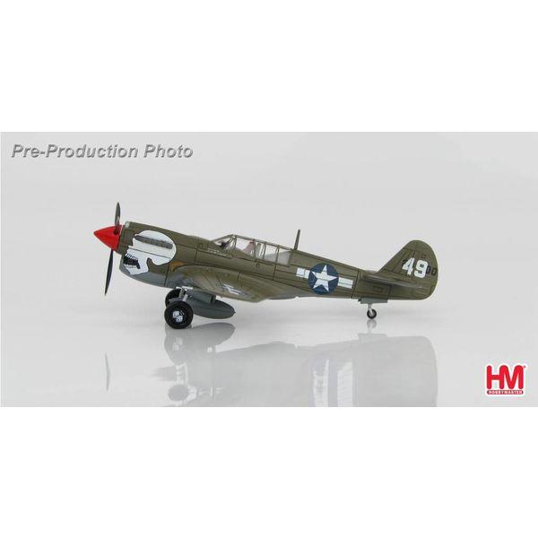 Hobby Master P40N Warhawk 89FS,80FG USAAF 49 Skull Assam Valley, 1:72