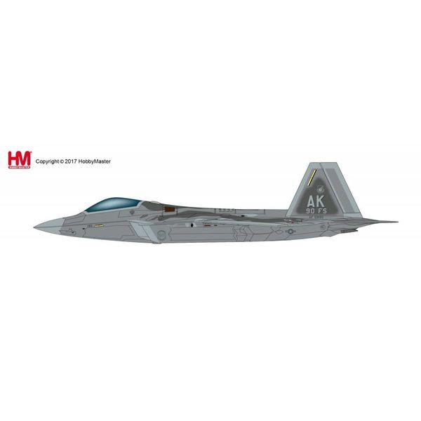 Hobby Master F22A Raptor 90FS 3Wing Elmendorf AFB AK 1:72**o/p**