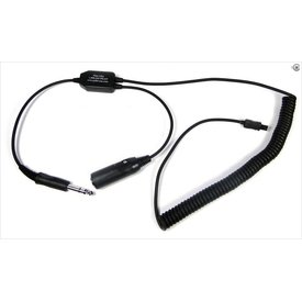 Pilot Communications Headset Adapter Go Pro Recorder Hero 3, 3+, 4