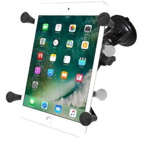 "Ram Mounts Suction Mount for 7""-8"" Tablets, X-Grip® Cradle"
