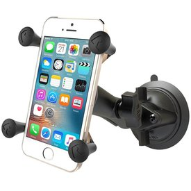 Ram Mounts X-Grip® Phone Mount with Twist-Lock™ Suction Cup Base