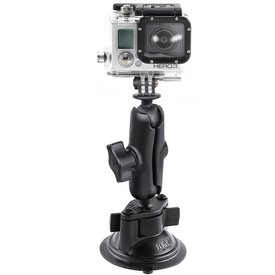 Ram Mounts Suction Mount with Universal Action Camera Adapter
