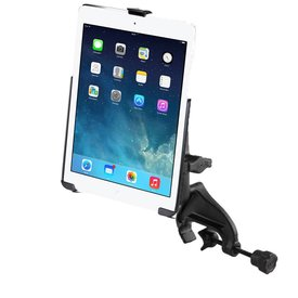 Ram Mounts Yoke Mount iPad 6th gen, Air 1-2 & Pro 9.7  EZ-Roll'r™ Cradle