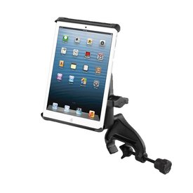 "Ram Mounts Yoke Mount iPad Mini 1-4 with Case, Other 8"" Tablets, Tab-Tite"