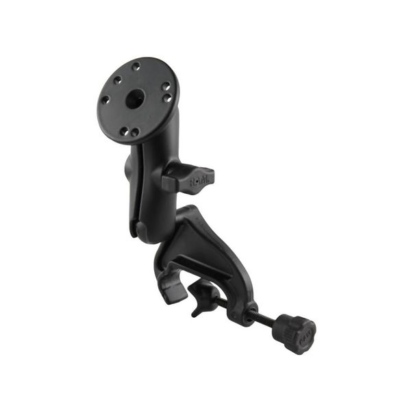 Ram Mounts Base Yoke Clamp Double Ball Arm with Round Plate