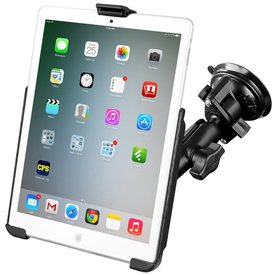 Ram Mounts Suction Mount For iPad Mini 1-3 EZ-Roll'r™ Cradle