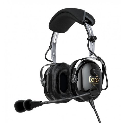 G2 ANR Headset Black
