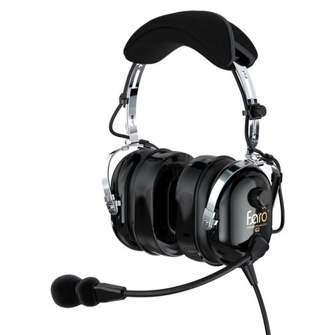 G2 Passive Headset Black