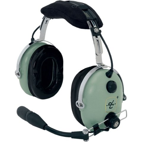 H10-60 Headset dual GA jacks 5 foot straight cord