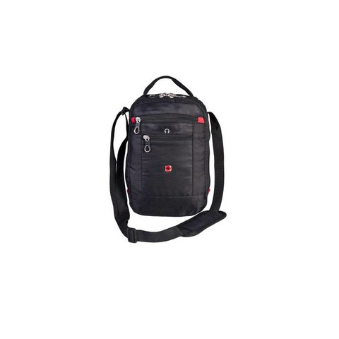 Headset Case black with strap