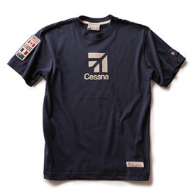 Red Canoe Brands Cessna T-Shirt, Navy