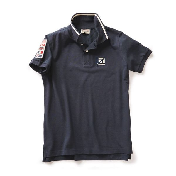 Red Canoe Brands Cessna Polo Navy