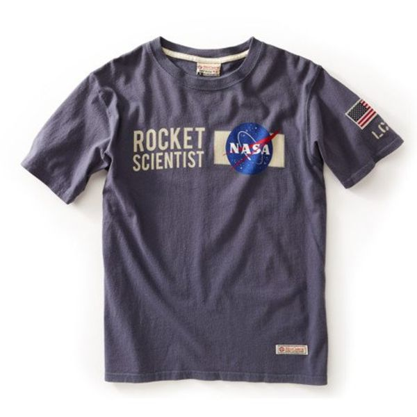 Red Canoe Brands NASA Rocket Tee