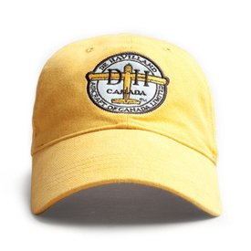 Red Canoe Brands Cap Dehavilland Logo Burnt Yellow