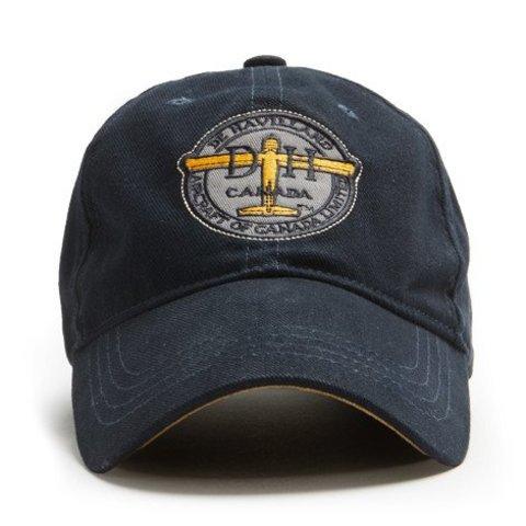Cap Dehavilland Logo Navy