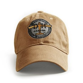 Red Canoe Brands Cap Dehavilland Logo Tan