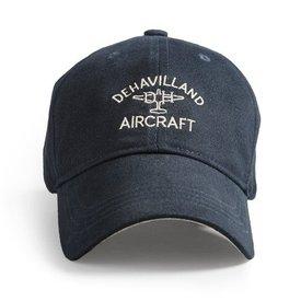 Red Canoe Brands Cap DeHavilland Aircraft Mosquito Logo Navy