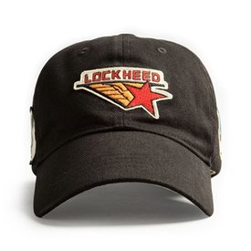 Red Canoe Brands Cap Lockheed Black