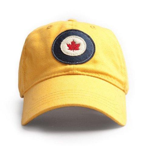 Cap RCAF Roundel Burnt Yellow