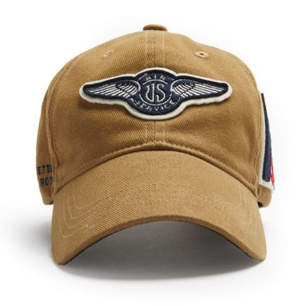 Red Canoe Brands CAP US AIR SERVICE TAN DAX