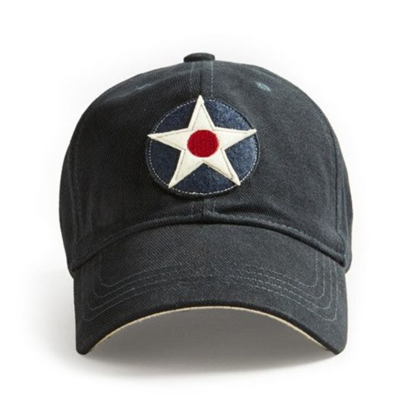 Red Canoe Brands CAP US ROUNDEL NAVY DAX