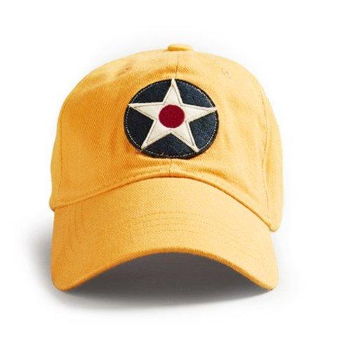 Cap Us Roundel Yellow Dax
