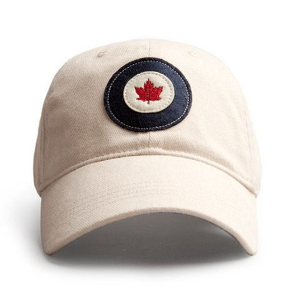 Red Canoe Brands Kid's Cap RCAF Roundel Stone