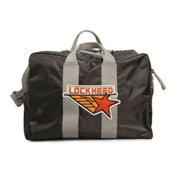 Red Canoe Brands Kit Bag Lockheed Black