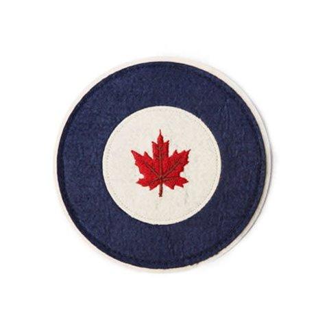 "Patch RCAF Roundel Felt 3.5"""