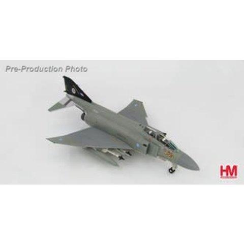 F4J PHANTOM 74SQN RAF WATTISHAM BK TAIL 1990 1:72