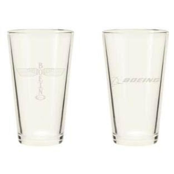 Boeing Store Boeing Totem Pint Glass