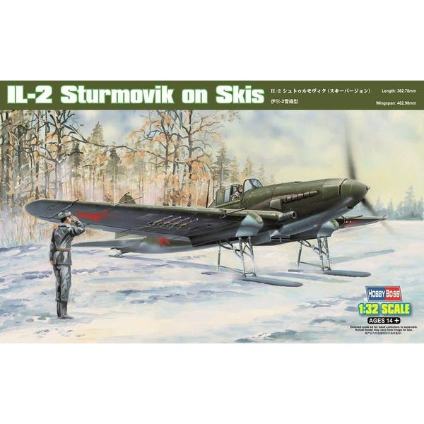 HobbyBoss IL2 Sturmovik on Skis 1:32