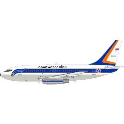 JFox2 B737-200 Thailand Air Force L11-1/26 1:200 With Stand