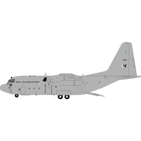 JFOX C130H Hercules Malaysia Air Force M30-09 1:200 w/stand