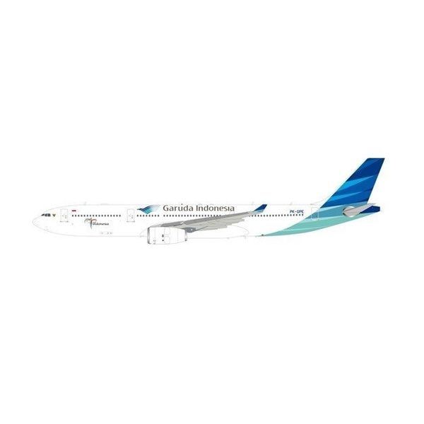 InFlight A330-300 Garuda Indonesia NC09 PK-GPE 1:200 with Stand