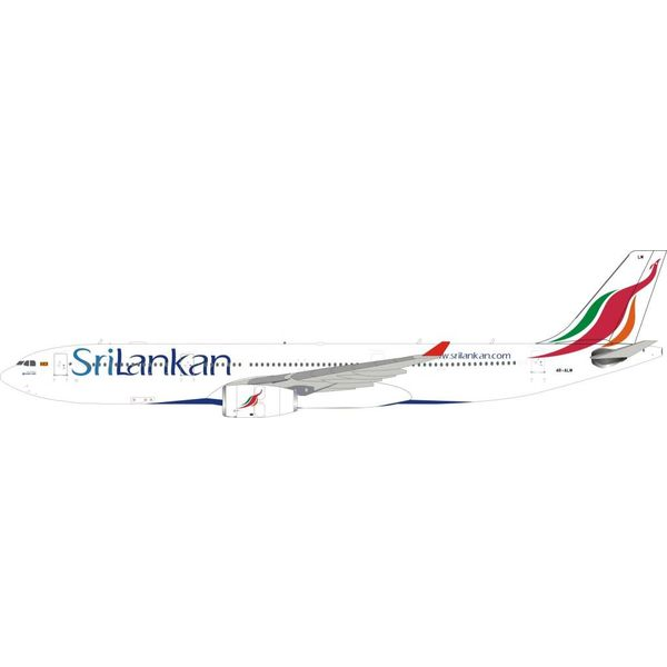 InFlight A330-300 SriLankan Airlines 4R-ALM 1:200 With Stand