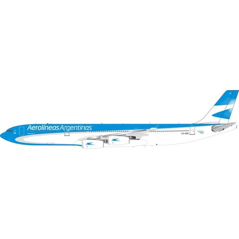 A340-300 Aerolineas Argentinas LV-CSX 1:200 With Stand