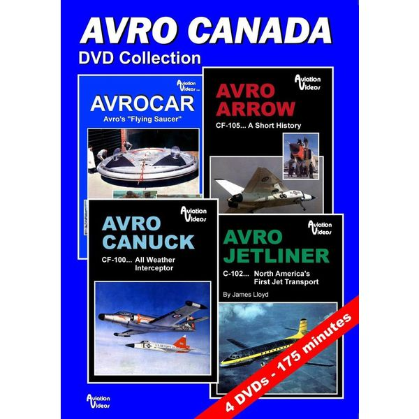 AVVID DVD Collection Avro Canada 4 X DVDs 175 Minutes