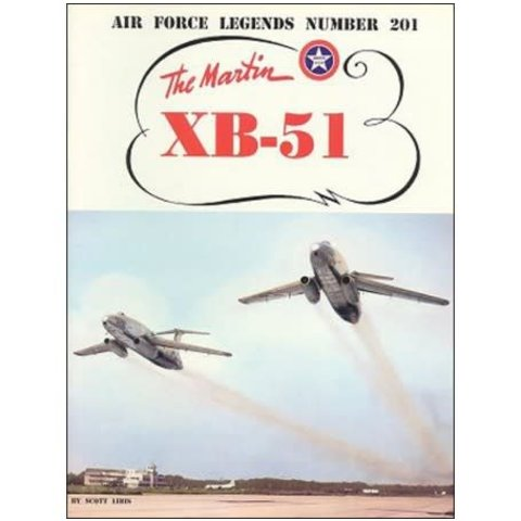 Martin XB51 Bomber: Air Force Legends AFL #201 softcover