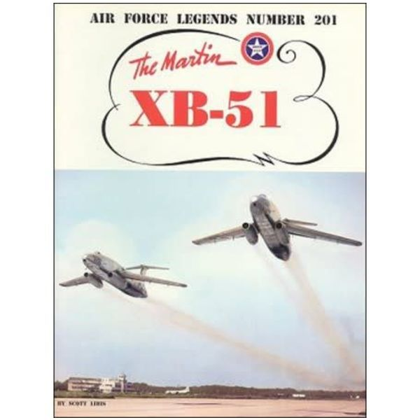 Ginter Books Martin XB51 Bomber: Air Force Legends AFL #201 softcover