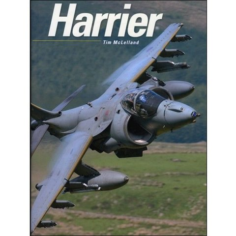 Harrier Hardcover Tim McLelland