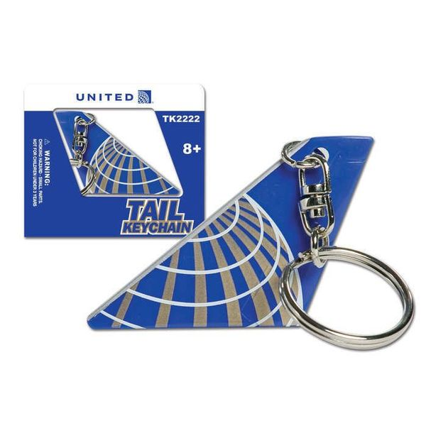Daron WWT Key Chain Tail United