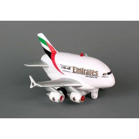 Daron WWT Emirates A380 Pullback W/Light & Sound