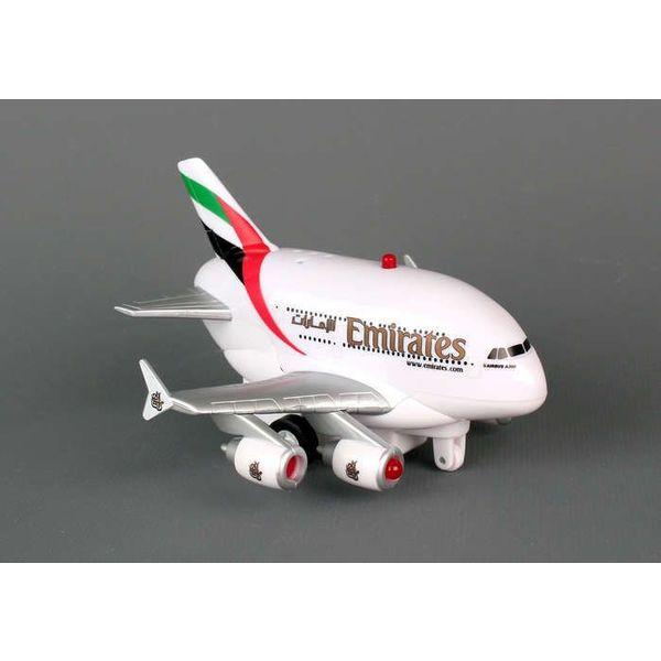 Daron WWT Emirates A380 Pullback W/Light & Sound